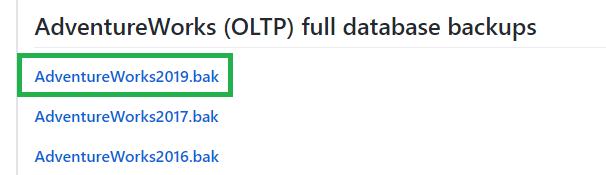 サンプルデータのダウンロード画面